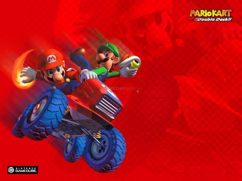 Pantallazo Fondo Super Mario Kart: Mario y Luigi
