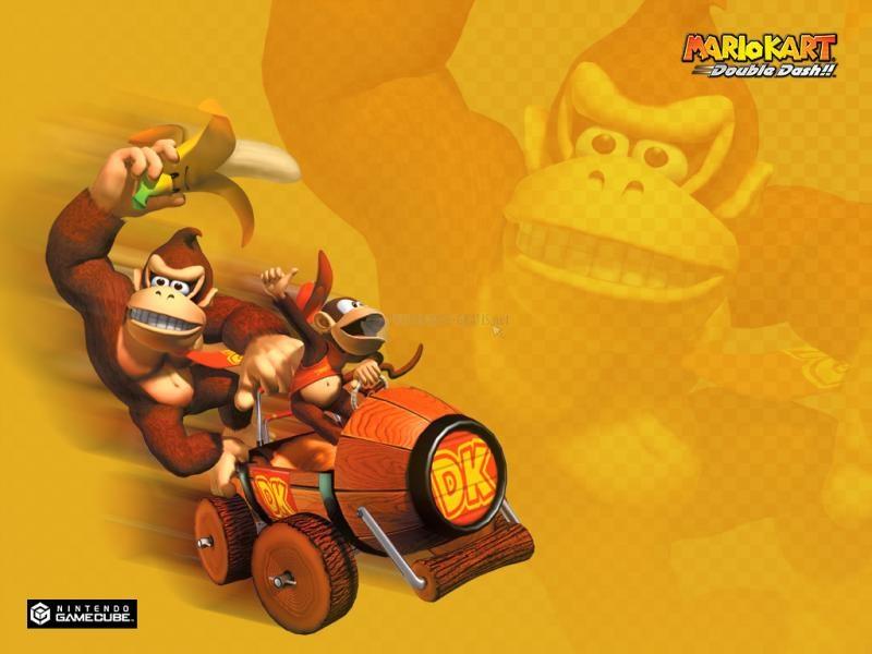 Pantallazo Fondo Super Mario Kart: Donkey Kong
