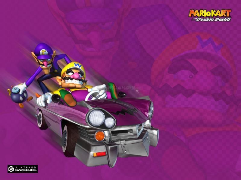 Pantallazo Fondo Super Mario Kart: Wario y Waluigi