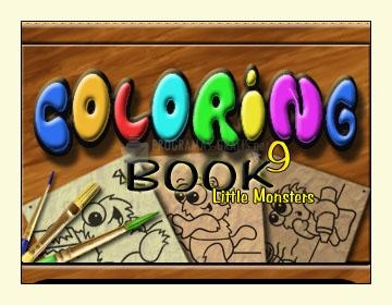 Pantallazo Coloring Book 9 Little Monsters
