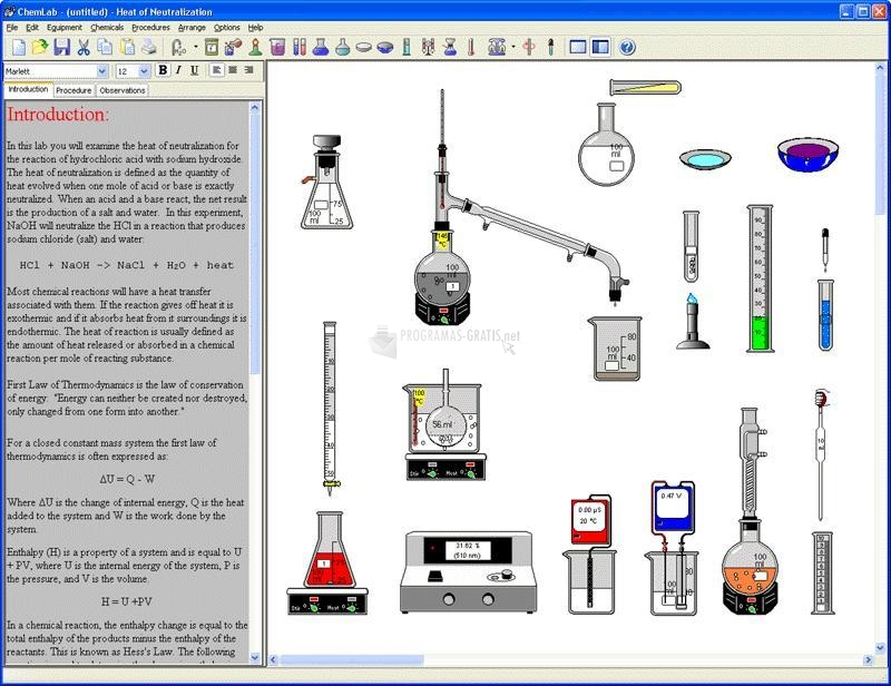 Foto Model ChemLab