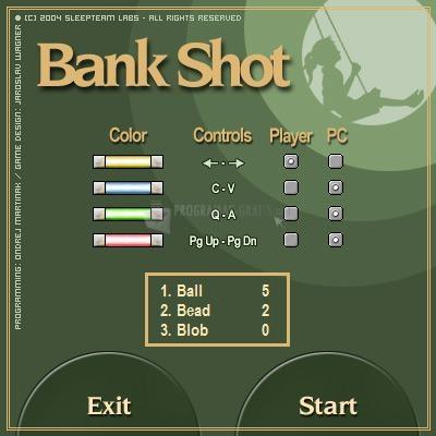 Pantallazo Bank Shot