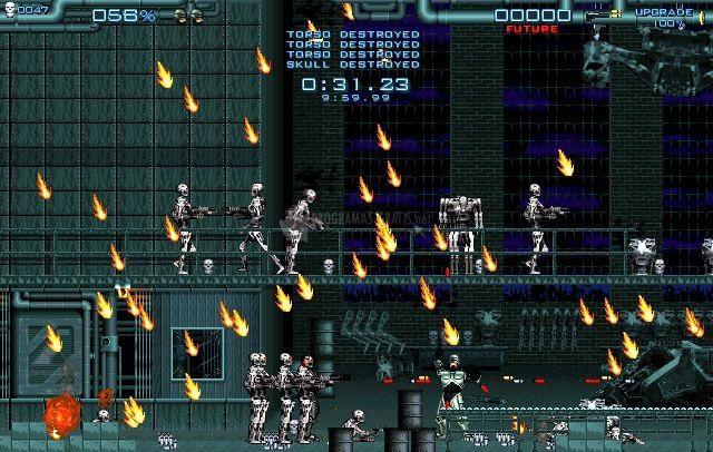 Pantallazo Robocop VS Terminator