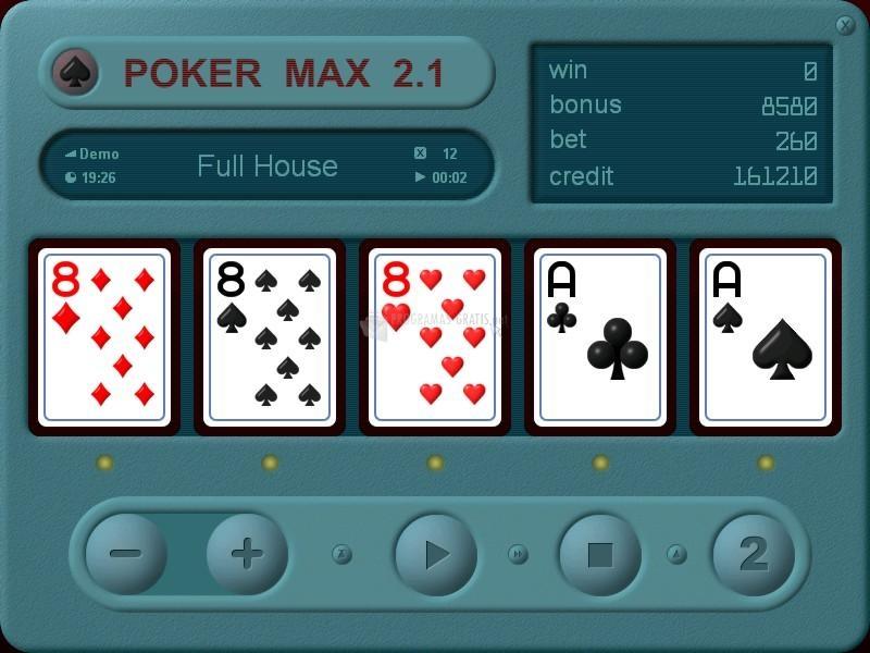 Pantallazo Poker Max