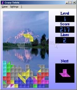 Pantallazo Crazy Tetris