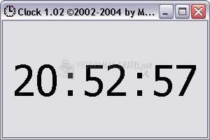 Pantallazo Max Clock