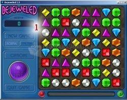 Pantallazo Bejeweled Deluxe