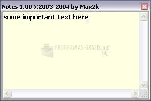 Pantallazo Max Notes