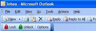 Pantallazo OutLock for Outlook