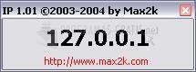 Pantallazo Max2k IP