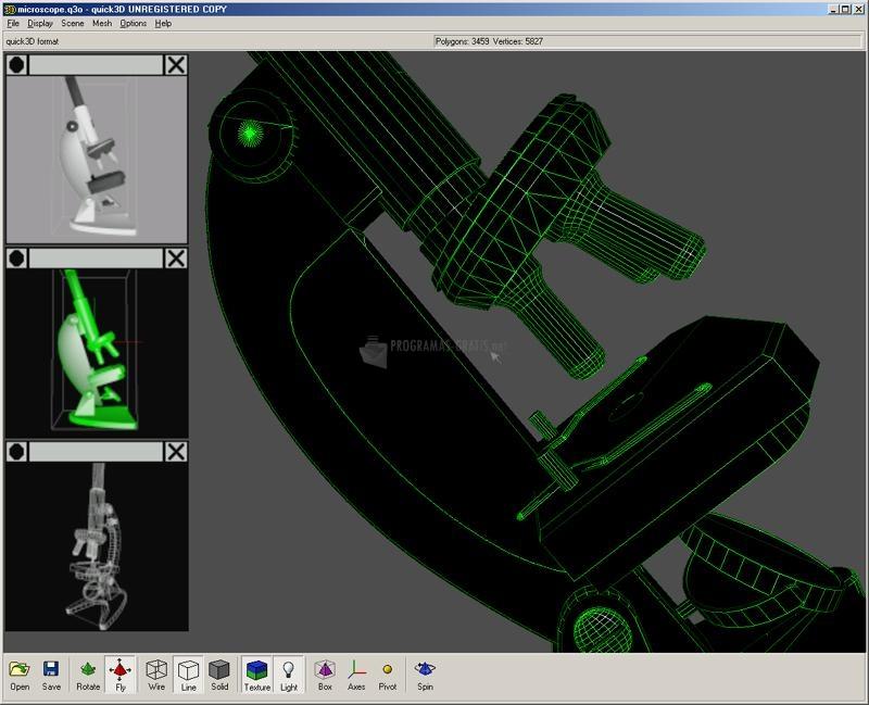 Pantallazo Quick3D Viewer