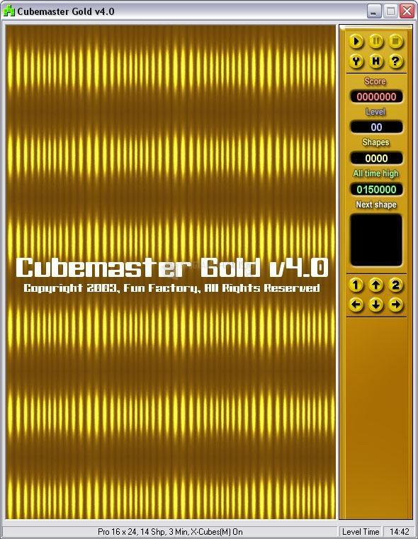 Pantallazo Cubemaster Gold