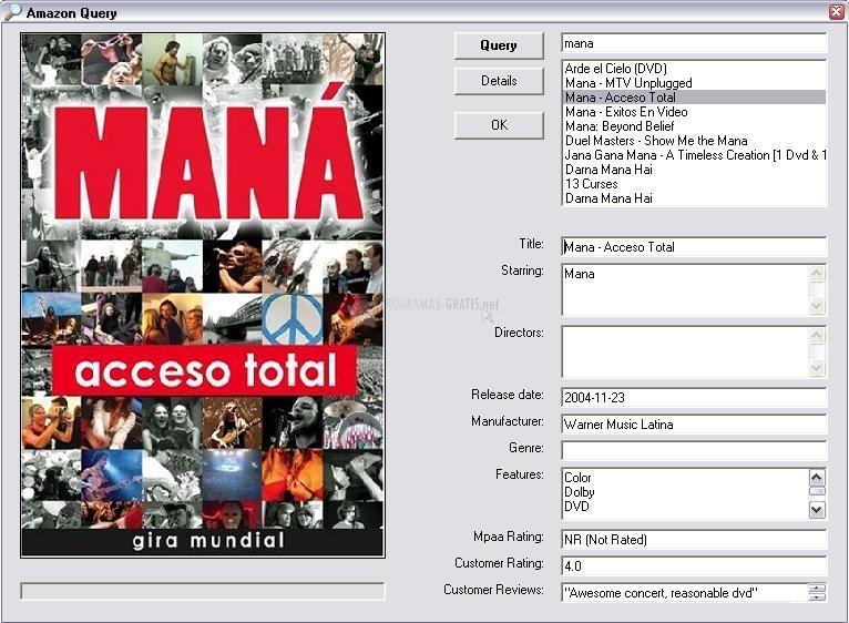 Pantallazo Auto DVD Labeler