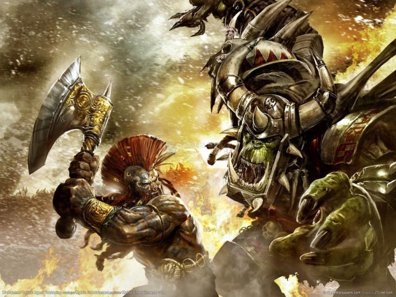 Pantallazo Fondo Warhammer