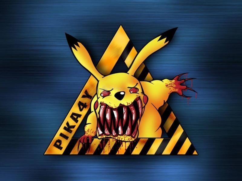Pantallazo Fondo Pokemon : Pikachu Mutante
