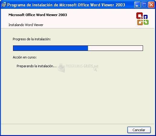 Pantallazo Word Viewer 2007