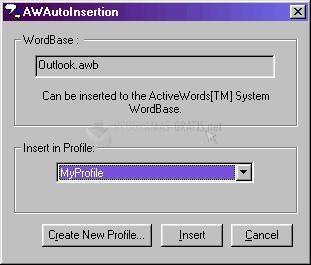 Pantallazo ActiveWords Plus