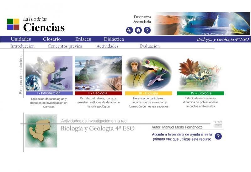 Pantallazo Isla de las Ciencias