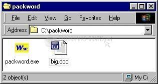 Pantallazo Packword