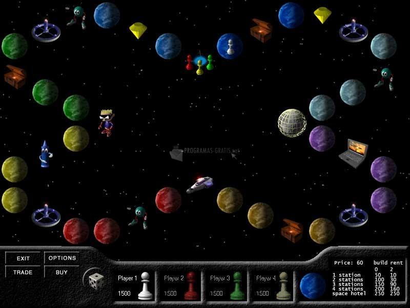 Pantallazo Space Monopoly