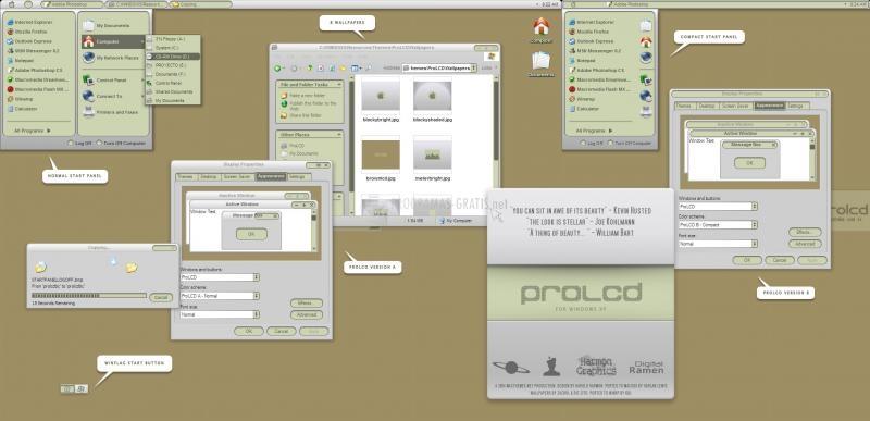 Pantallazo ProLCD Visual