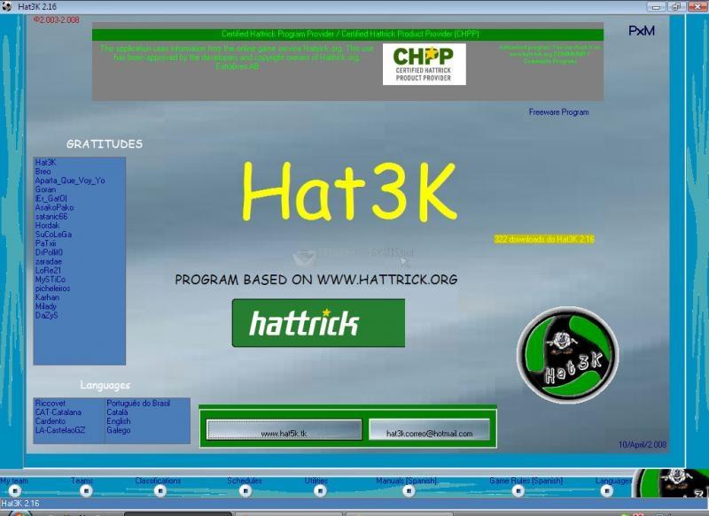 Pantallazo Hat3K