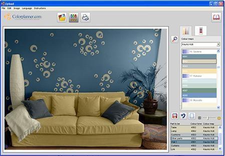 Pantallazo Color Planner