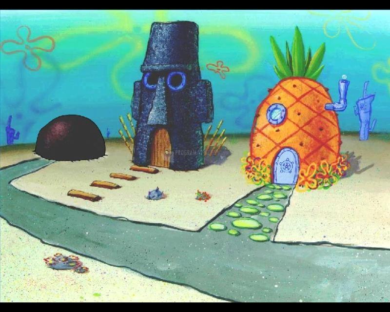 Pantallazo Bob Esponja Underwater Screensaver