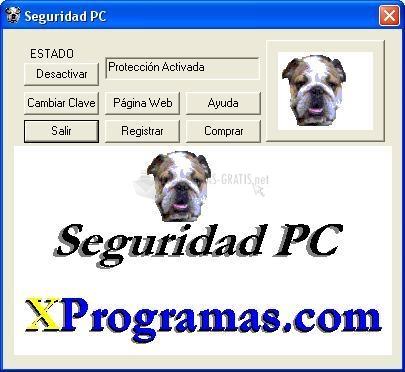 Pantallazo SeguridadPC