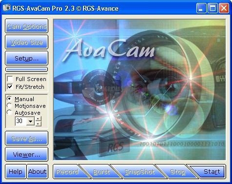 Pantallazo RGS-Avacam