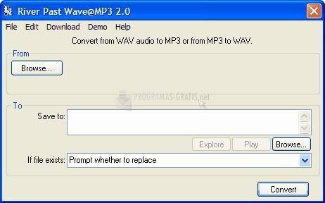 Pantallazo River Past Wave@MP3