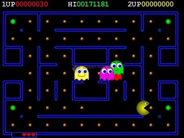 Pantallazo Deluxe Pacman