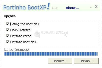 Pantallazo Portinho Boot XP