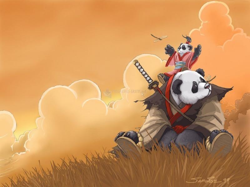 Pantallazo Samurai Panda