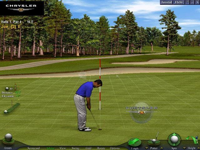 Pantallazo Chrysler World Tours Golf
