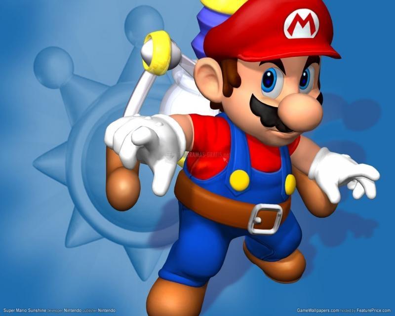 Pantallazo Wallpaper Super Mario Bros