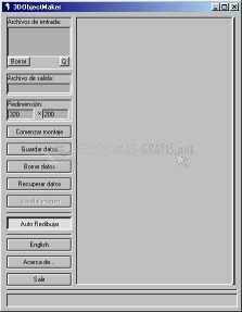 Pantallazo Flavio Creador de Objetos 3D