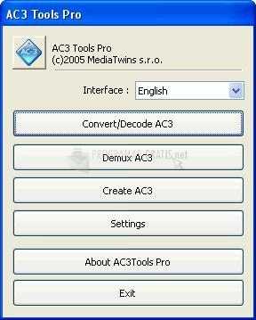 Pantallazo AC3Tools Pro