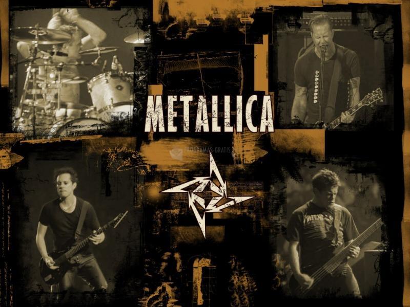 Pantallazo Fondo de Escritorio Metallica
