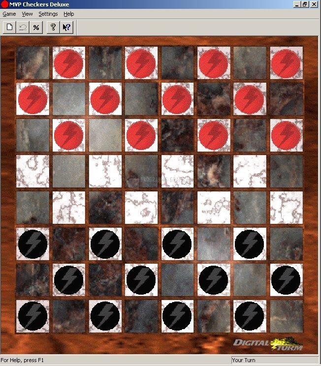 Pantallazo MVP Checkers