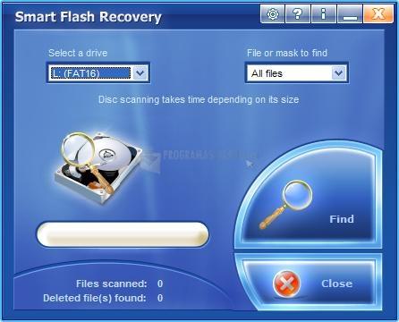 Pantallazo Smart Flash Recovery