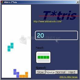 Pantallazo Aldo Tetris
