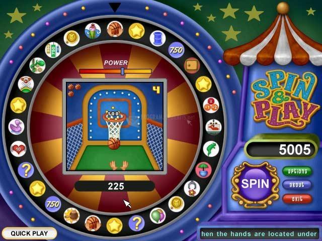 Pantallazo Spin and Play