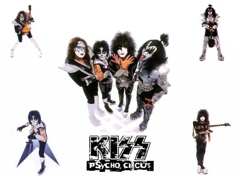 Pantallazo Kiss Psycho Circus