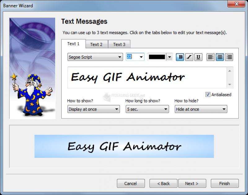 Foto Easy GIF Animator