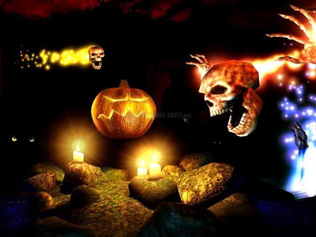 Pantallazo Halloween 3D Screensaver