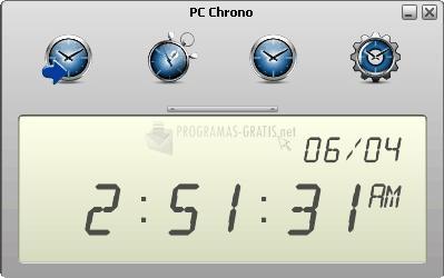 Pantallazo PC Chrono