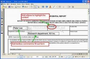 Pantallazo PDF Editor
