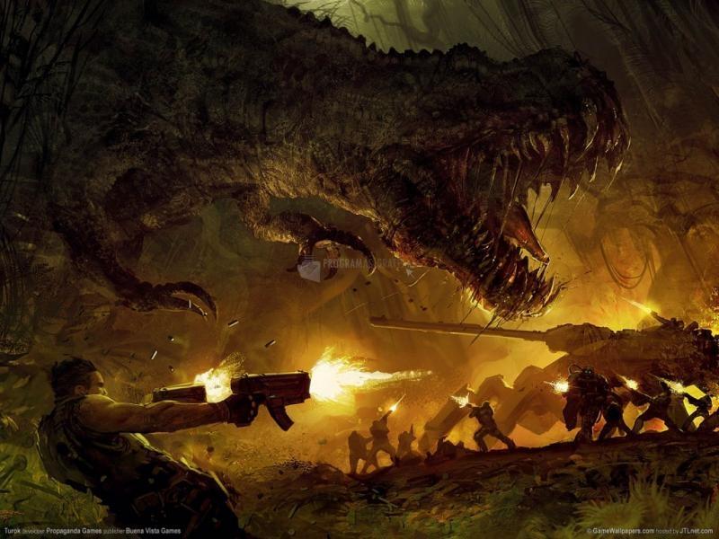 Pantallazo Dinosaurio al Ataque