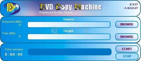 Pantallazo DVD Copy Machine